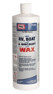 Cire pour RV, bateau et avion